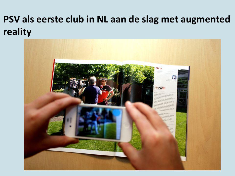 PSV als eerste club in NL aan de slag met augmented reality