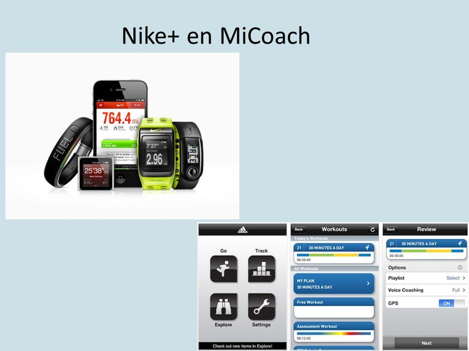 Nike+ en MiCoach