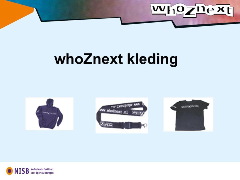 whoZnext kleding