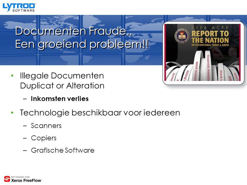 Documenten Fraude.. Een groeiend probleem!.