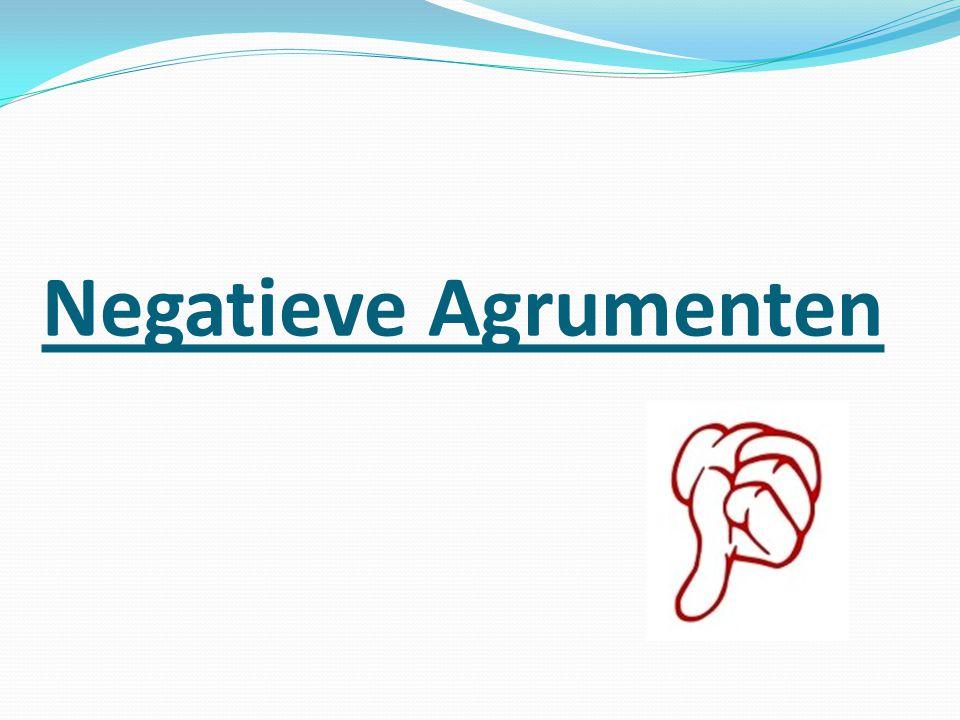 Negatieve Agrumenten