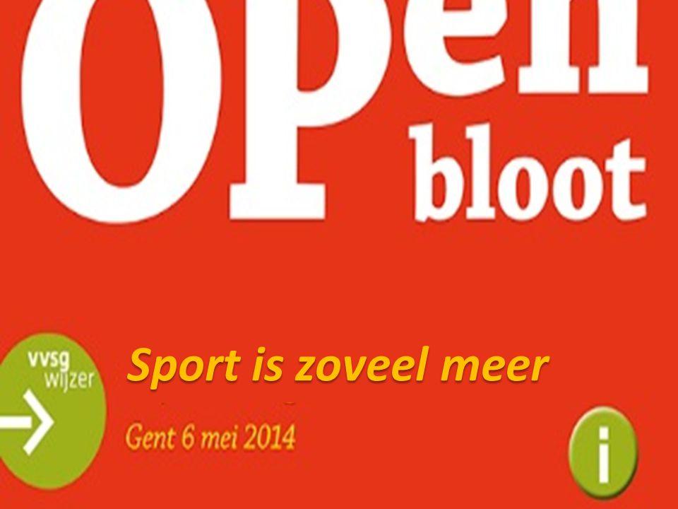 SPORT in EXTRA TIME Sport is zoveel meer…