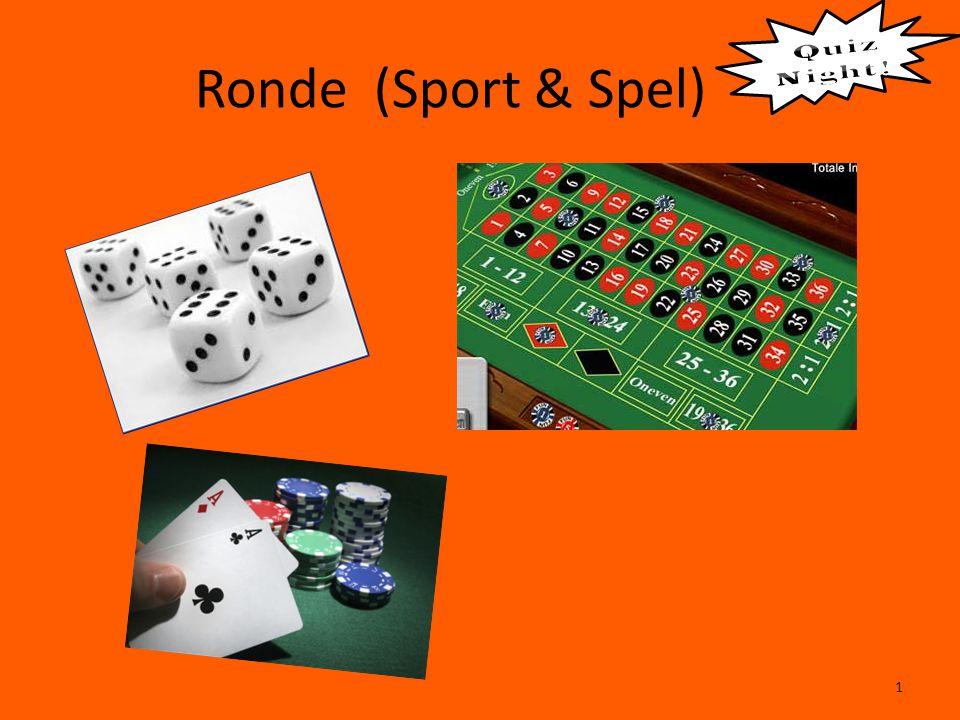 Ronde (Sport & Spel) 1