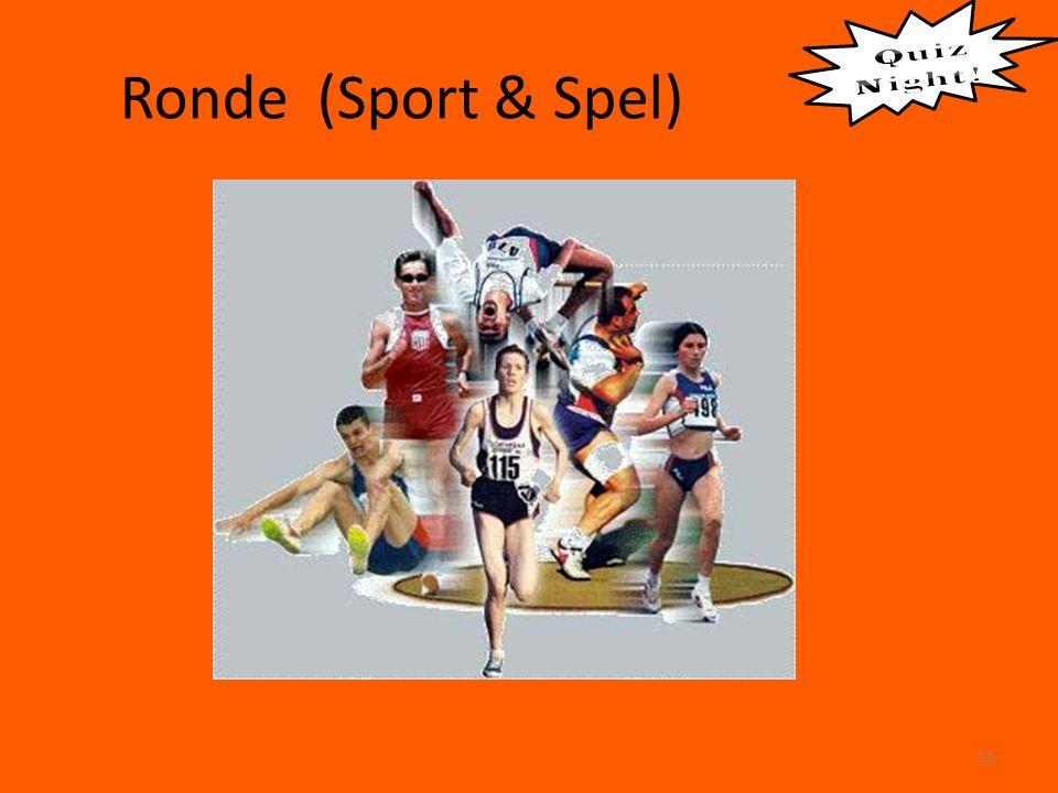 Ronde (Sport & Spel) 11