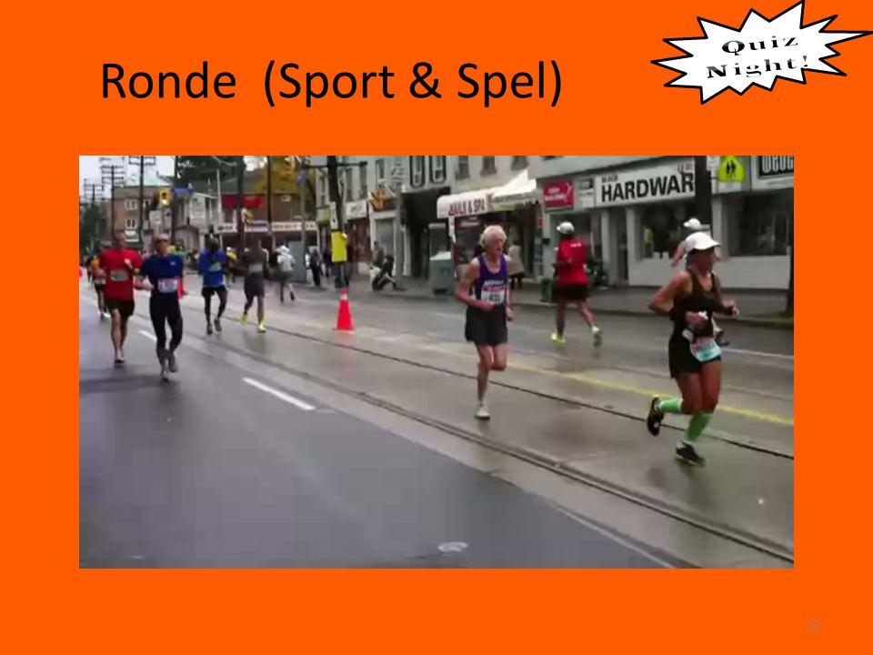 Ronde (Sport & Spel) 12