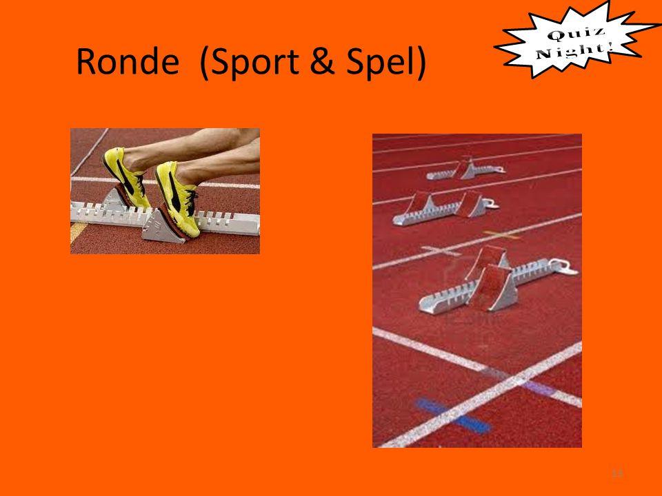 Ronde (Sport & Spel) 13
