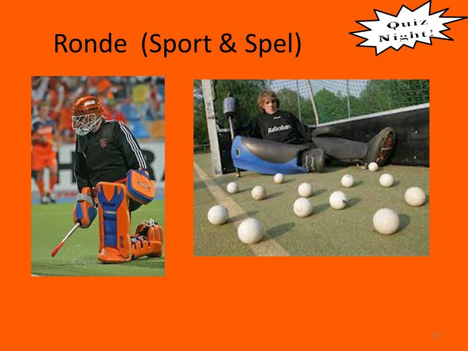 Ronde (Sport & Spel) 14