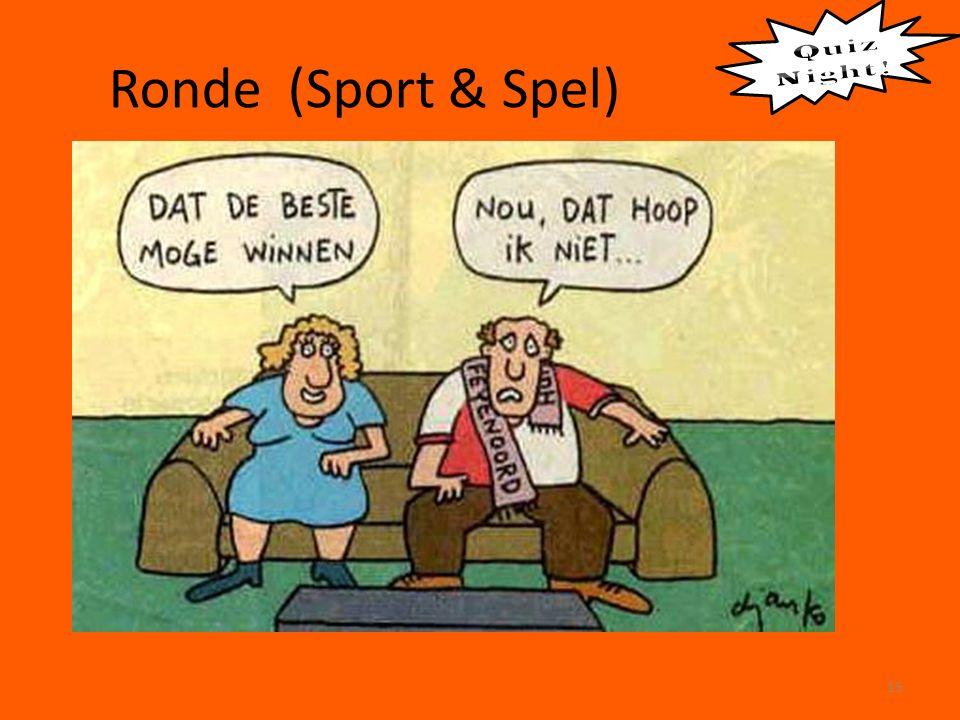 Ronde (Sport & Spel) 15