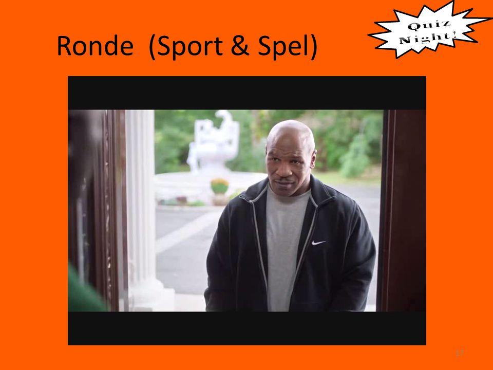 Ronde (Sport & Spel) 17