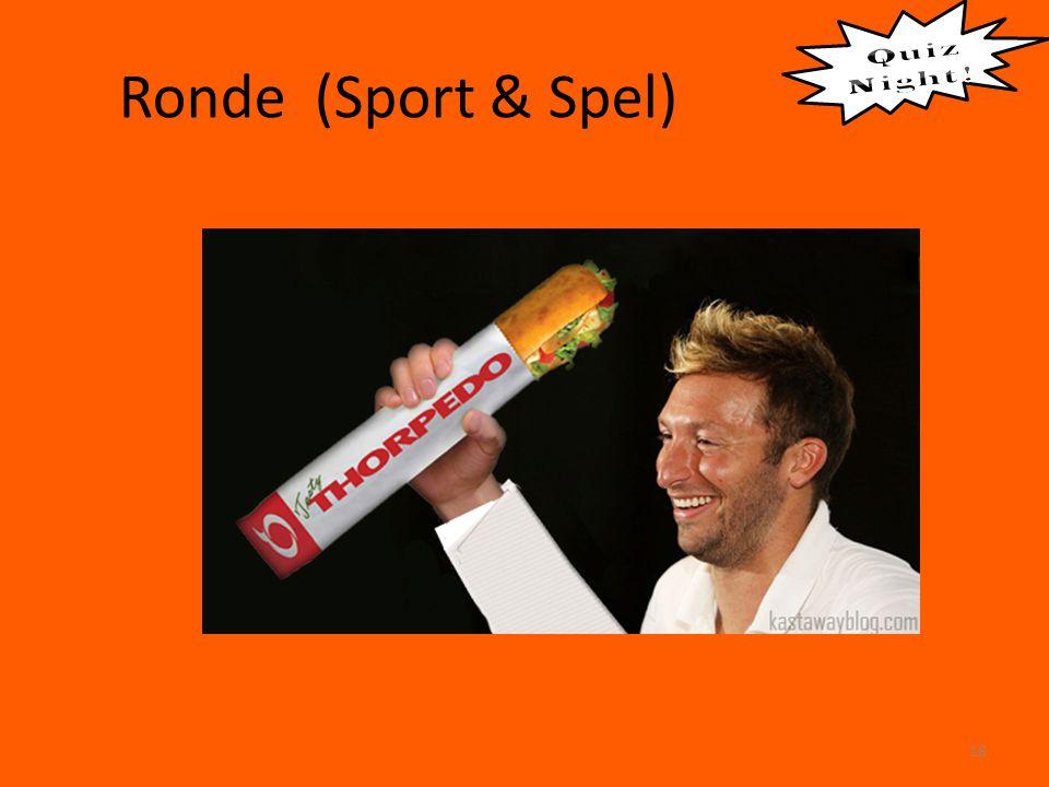 Ronde (Sport & Spel) 18