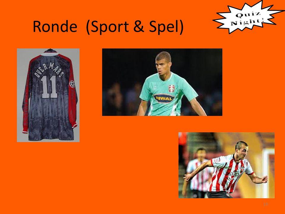 Ronde (Sport & Spel) 19