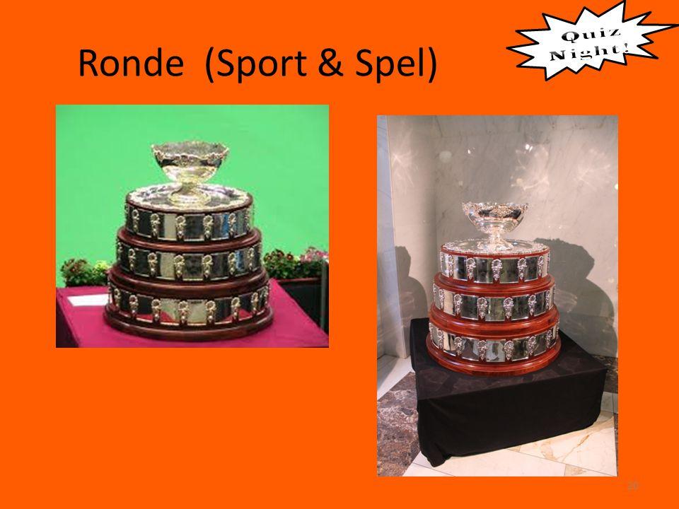 Ronde (Sport & Spel) 20