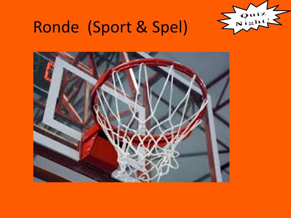 Ronde (Sport & Spel) 21