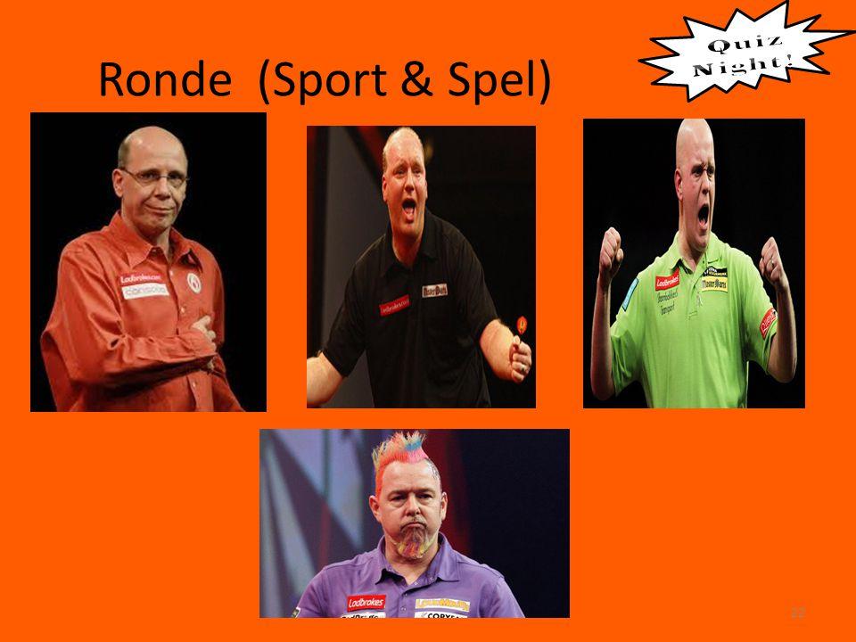 Ronde (Sport & Spel) 22