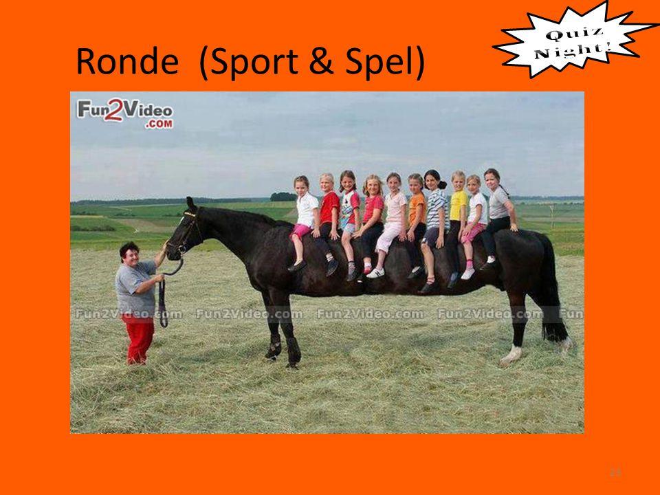 Ronde (Sport & Spel) 23