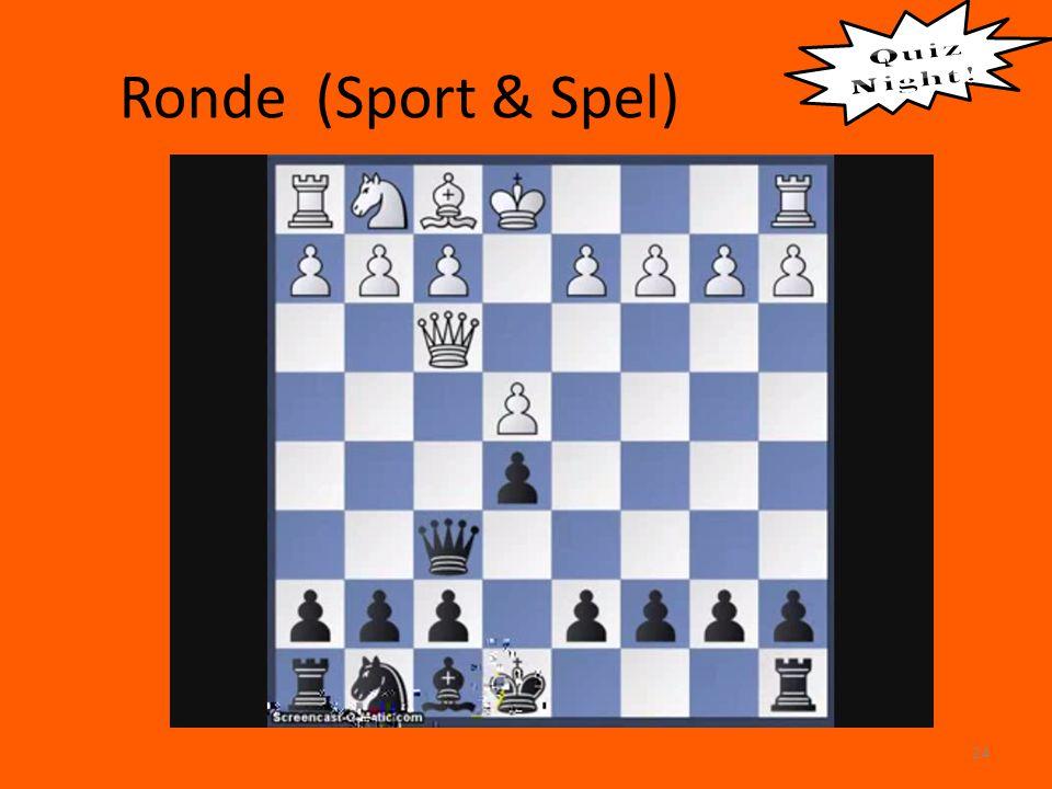 Ronde (Sport & Spel) 24