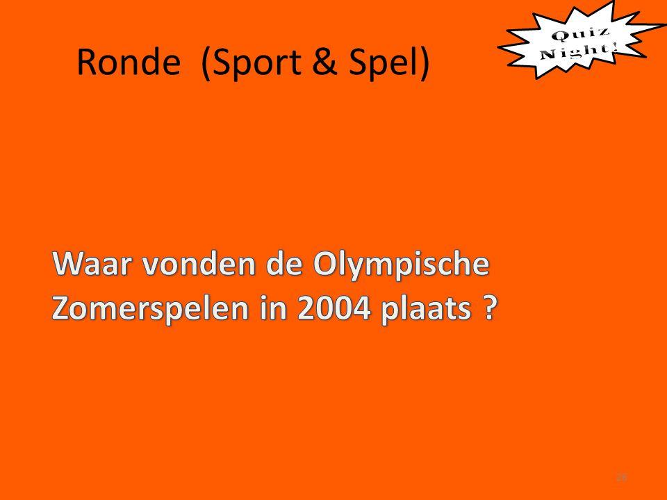 Ronde (Sport & Spel) 26