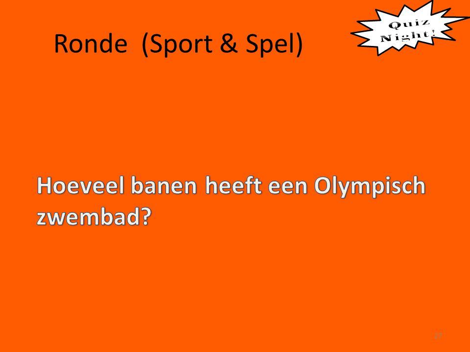 Ronde (Sport & Spel) 27