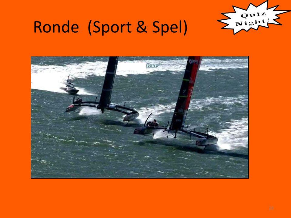 Ronde (Sport & Spel) 28