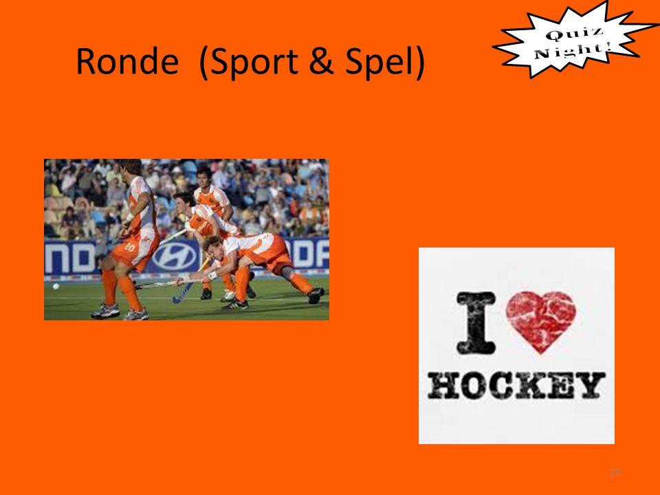 Ronde (Sport & Spel) 29
