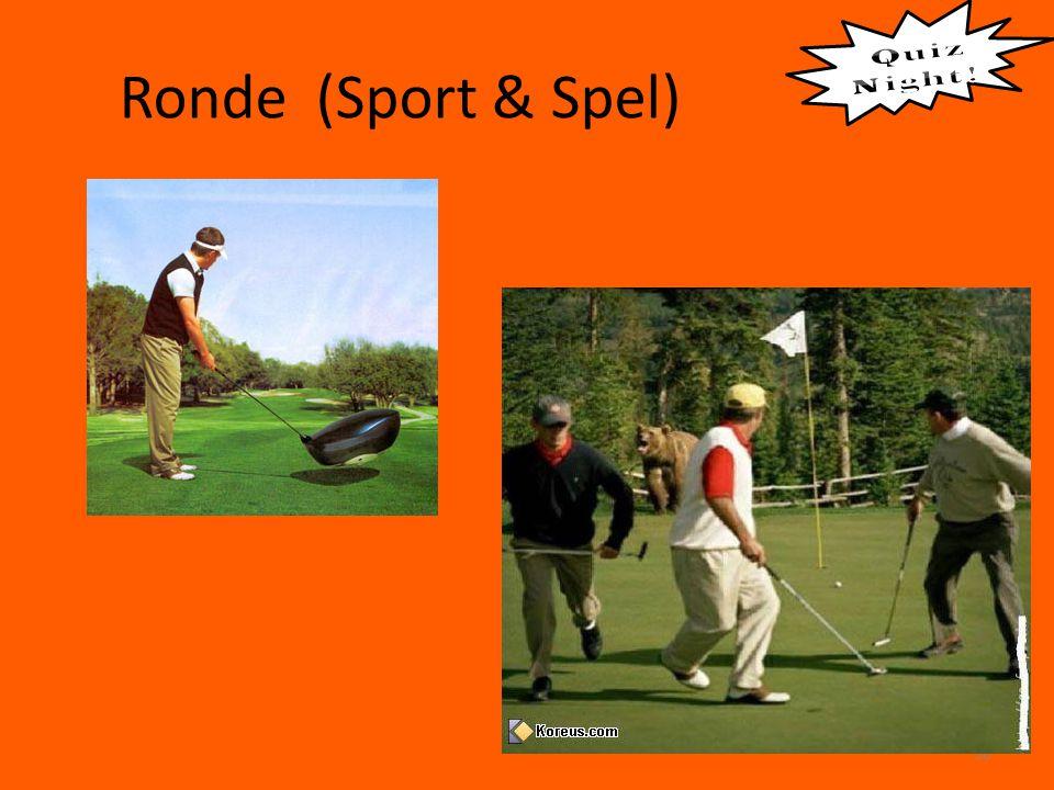 Ronde (Sport & Spel) 30