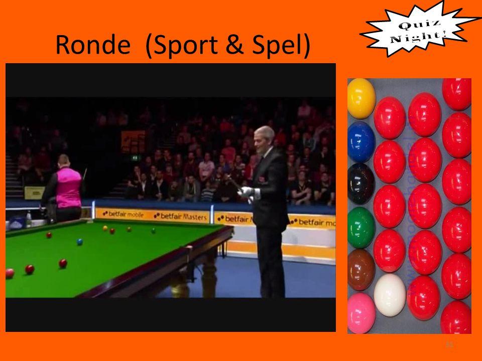 Ronde (Sport & Spel) 31