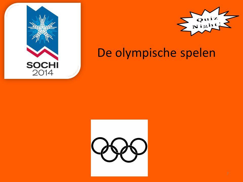 De olympische spelen 7