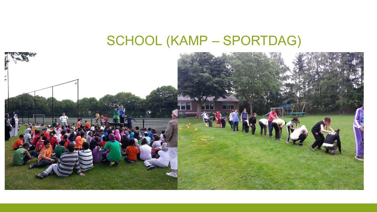 SCHOOL (KAMP – SPORTDAG)