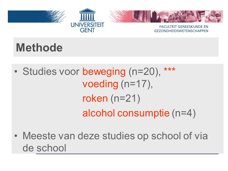 Studie 3: Aktion Glasklar Grotere effecten op dronken episodes in Laag SES