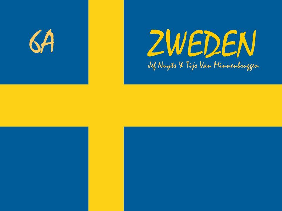 Ligging Zweden