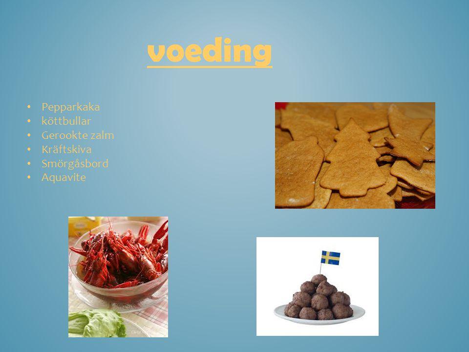 voeding Pepparkaka köttbullar Gerookte zalm Kräftskiva Smörgåsbord Aquavite
