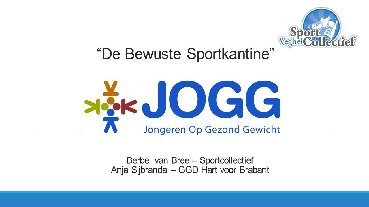 """""""De Bewuste Sportkantine"""" Berbel van Bree – Sportcollectief Anja Sijbranda – GGD Hart voor Brabant"""