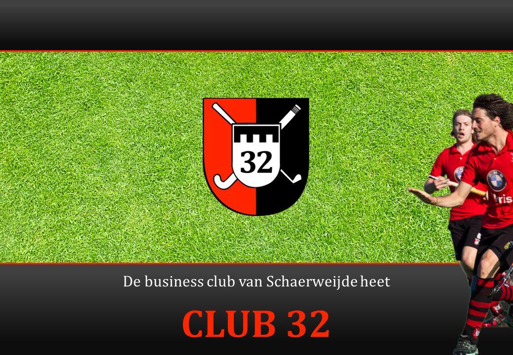12 Samenwerking BC'32 en sponsorcie Goede samenwerking in belang Schaerweijde.