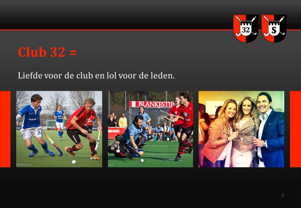 3 Club 32 organiseert Leuke / leerzame / lucratieve activiteiten  Zowel sport als business gerelateerd.