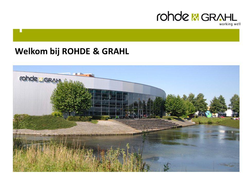 Welkom bij ROHDE & GRAHL