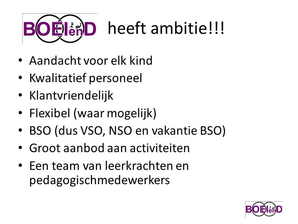 heeft ambitie!!.