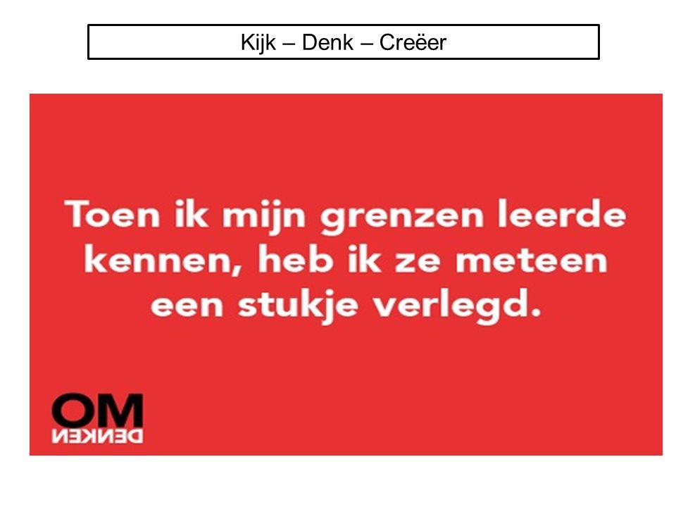 Kijk – Denk – Creëer