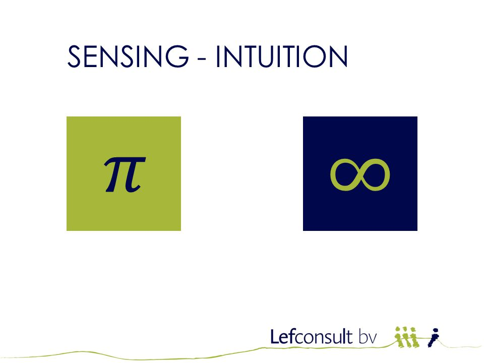 JTI Kwalificatietraining SENSING - INTUITION