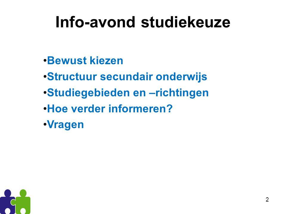 3 Bewust kiezen studie A studie B