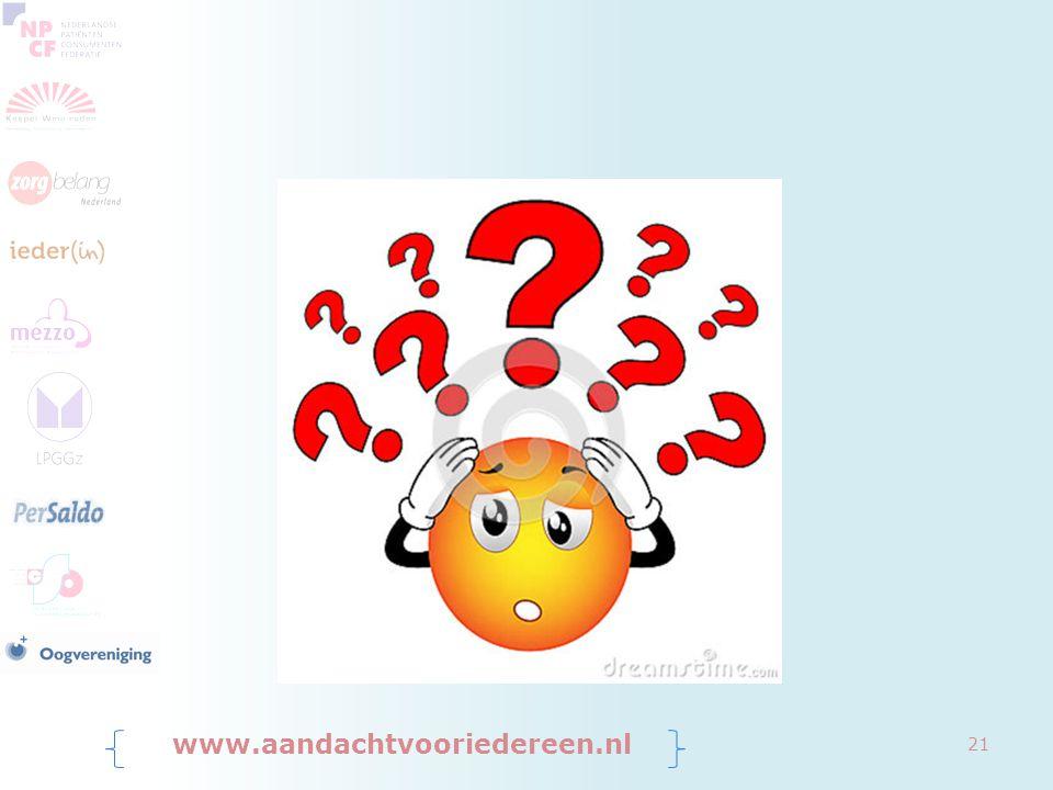 www.aandachtvooriedereen.nl 21