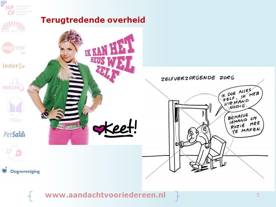 Beperking overheidsuitgaven www.aandachtvooriedereen.nl 6