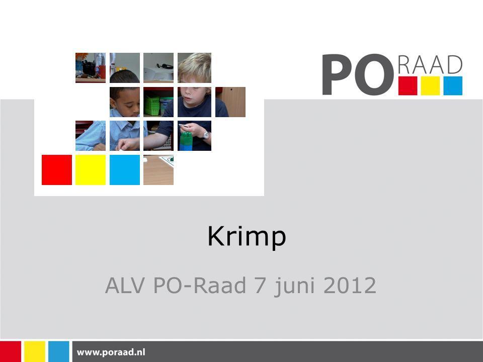 Krimp ALV PO-Raad 7 juni 2012