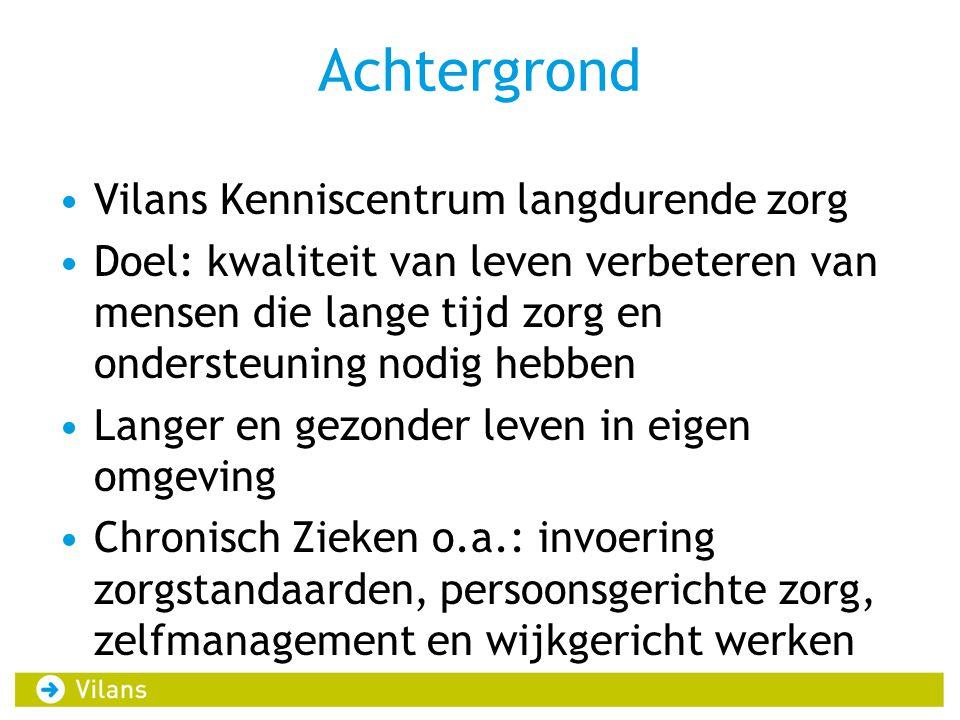 Handreiking Handreiking Opzet van de Inloopfunctie (Vilans, 2012) Co-creatie Vilans en de 8 initiatieven Voor wie.