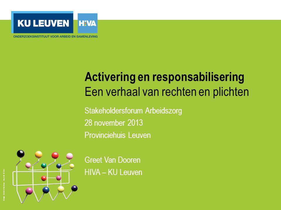 Activering en responsabilisering: internationaal Nederland: 'de klassieke verzorgingsstaat verandert langzaam maar zeker in een participatiesamenleving.