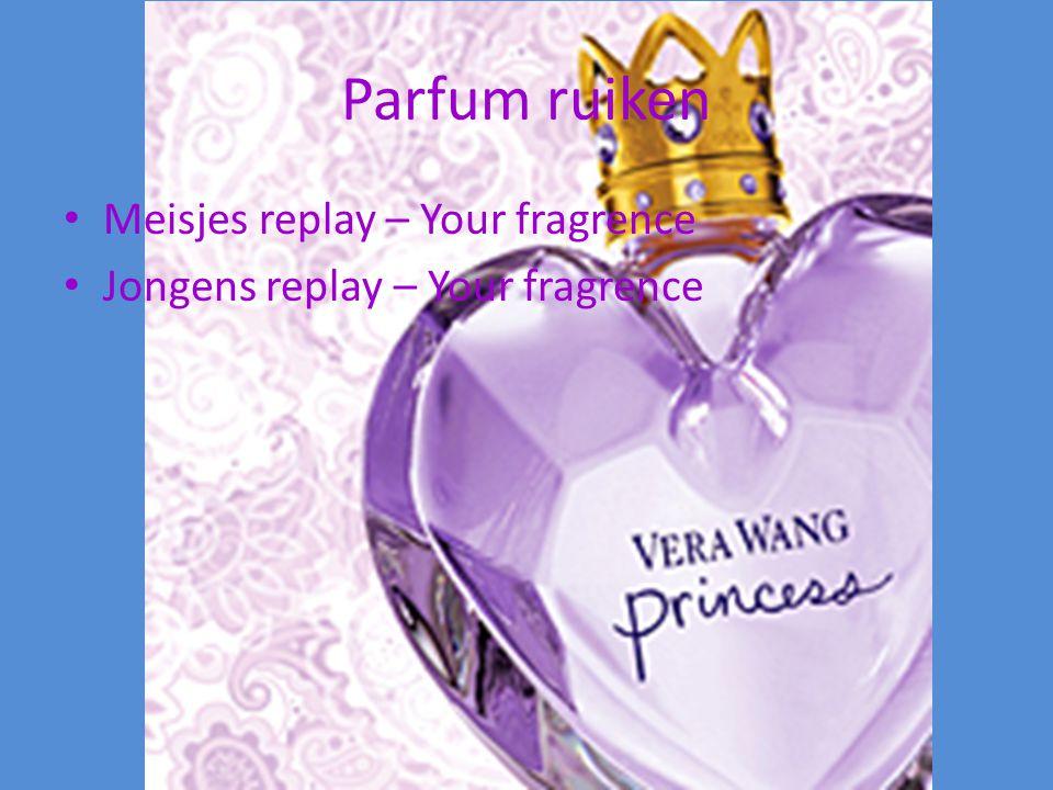 Parfum ruiken Meisjes replay – Your fragrence Jongens replay – Your fragrence