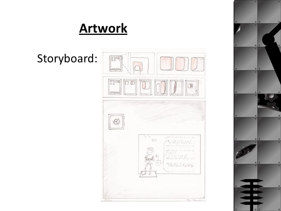 Artwork Storyboard: