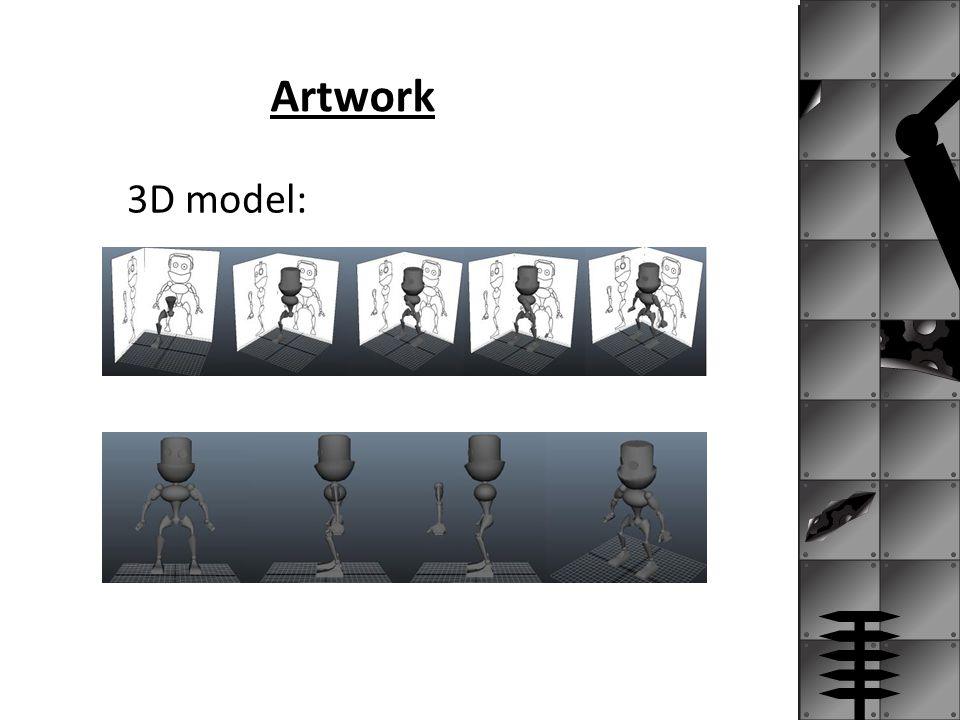 Artwork 3D model: