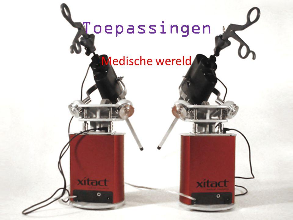 Toepassingen Robots