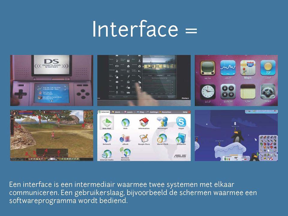 Definieer het maar ruimtelijke interfaces