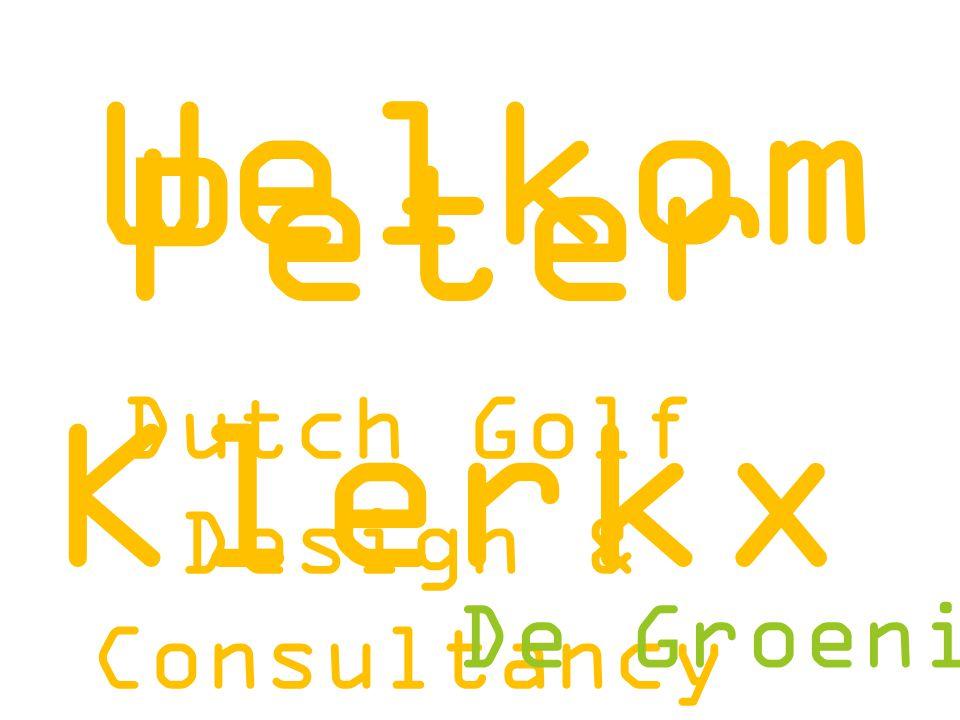 Kansen en bedreigingen komende 5 jaar Dutch Golf Design & Consultancy That's Golf 5(0) tinten Golf sport en groen De Groeningenieurs vitaal groen en sport